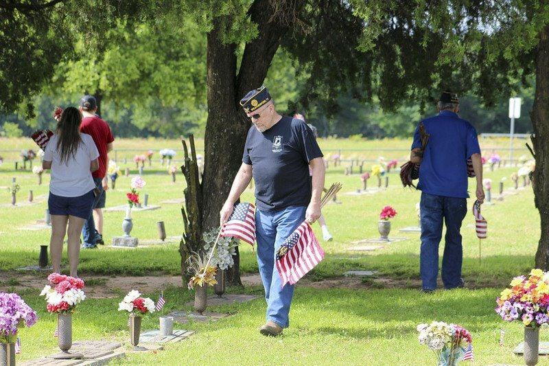 Legion holds Memorial Day ceremony