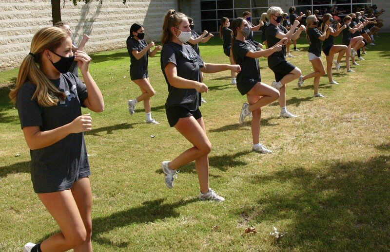 Cheerleaders can't wait to whip up excitement