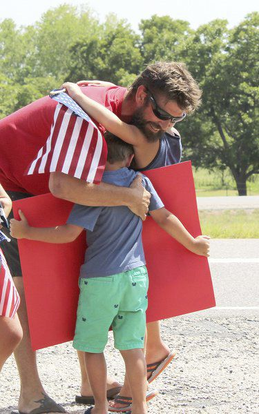 Veteran settling in Parker County after 21 years in Marine Corps
