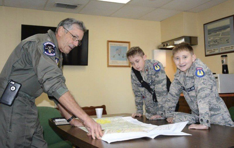 Local youth take to the skies with Civil Air Patrol