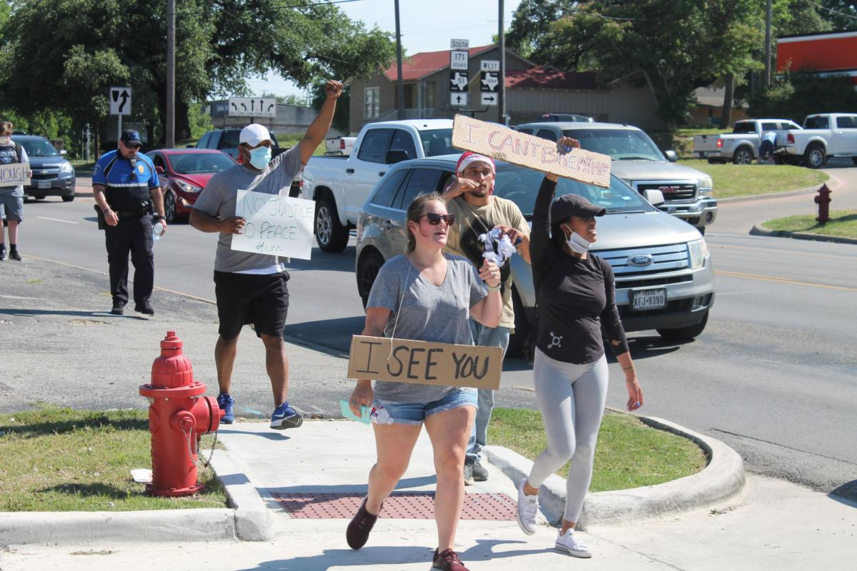 Weatherford Graduate Organizes Peaceful March To Protest Death Of George Floyd News Weatherforddemocrat Com