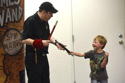 Library promotes magic shows and literacy