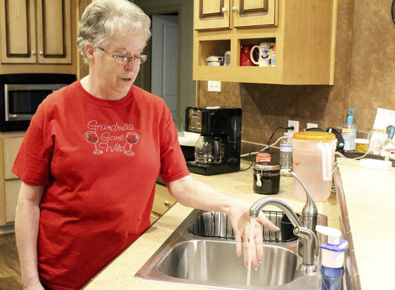 HSB water back to normal flow, repairs continue