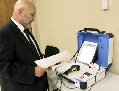 Elections admin responds to voting machine concerns