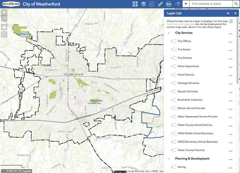 City unveils interactive web mapping app local news city unveils interactive web mapping app gumiabroncs Images
