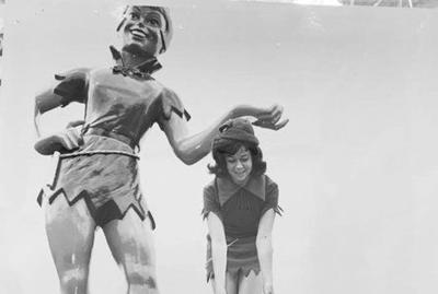 The tale of the missing Peter Pan statue