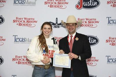 Springtown FFA teen scrambles to the win at Fort Worth Stock Show