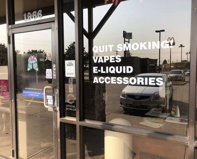 Breathe Easy Vapes storefront
