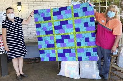 Quilter's Guild of Parker County steps up for nurses