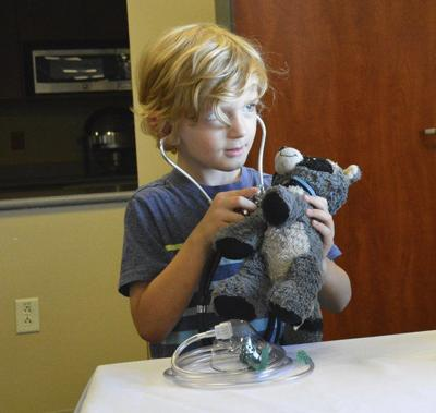 Hospital hosts Teddy Bear Clinic