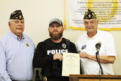 TOP COP: WPD's McClure named Law Enforcement Officer of the Year by American Legion