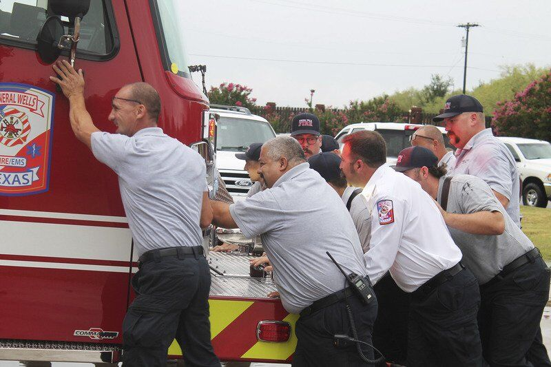 'MONUMENTAL' DAY: MWFD holds push-in ceremony for new truck