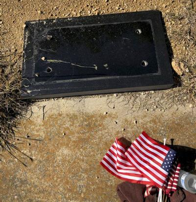 PCSO investigates missing bronze grave marker