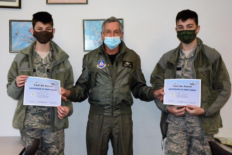 Civil Air Patrol Cadets take to the skies