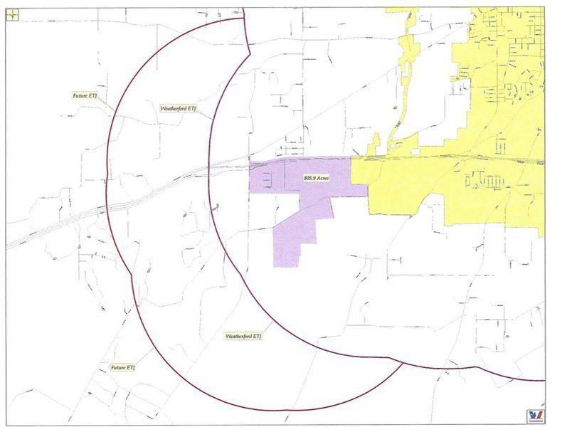 Weatherford Involuntarily Annexes Land