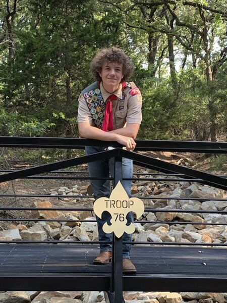 Local scout completes Eagle Scout project at Camp Holland