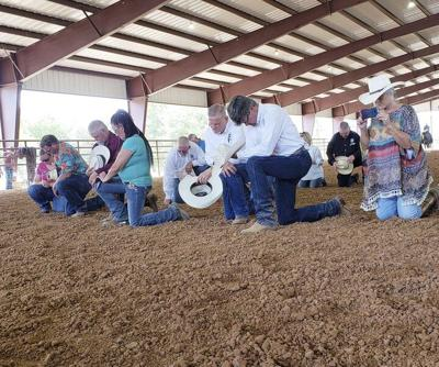 Private donation funds newly-constructed cowboy church arena