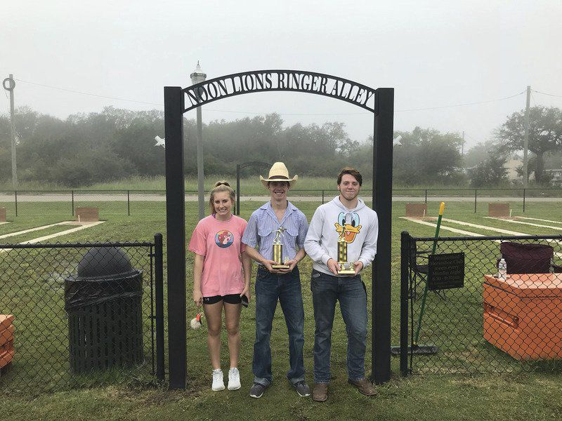 Weatherford crowns horseshoe tournament champs