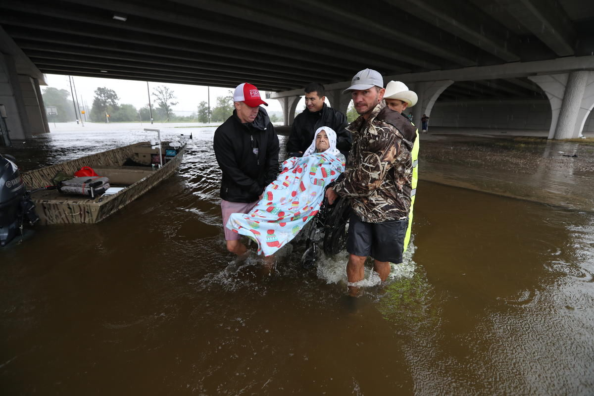 A third shelter has opened up in Dallas for Hurricane Harvey evacuees