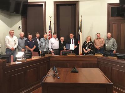 Parker County commissioners designate Veterans Week