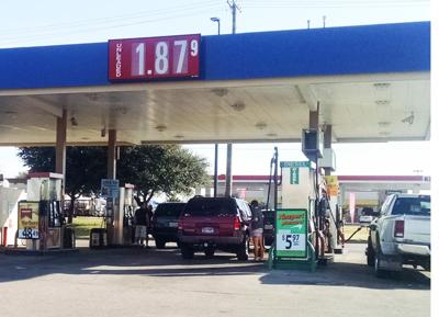 Walmart Gas Prices Near Me >> Texas Gas Prices In A Free Fall News Weatherforddemocrat Com