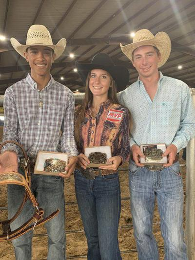 Aledo Rodeo members place at North Texas finals