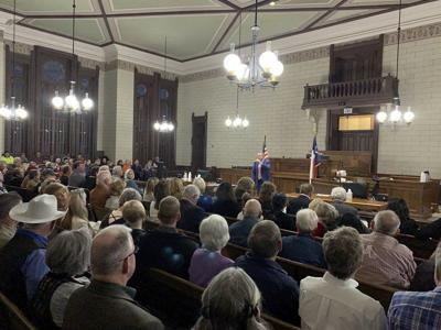 Republican candidates discuss issues at first public forum