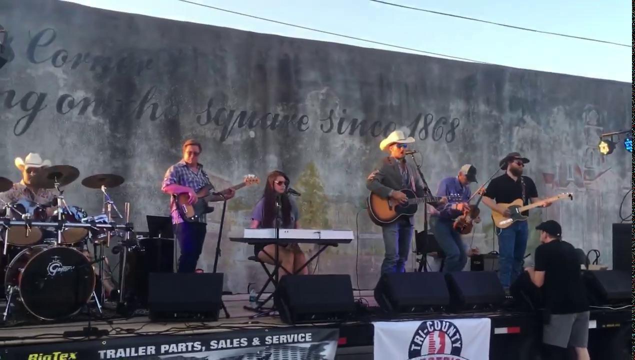 Rowdy Decker Band performs     weatherforddemocrat com