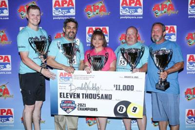 Azle residents win National Pool Championship in Vegas