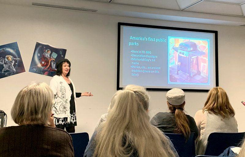 Local author discusses evolution of cemetery symbolism, practices