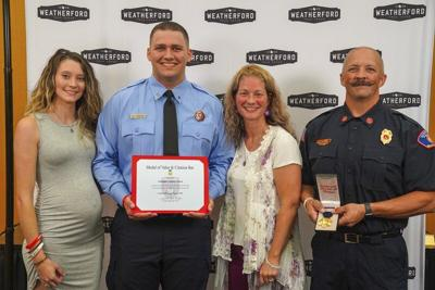 WFD firefighter honored with Medal of Valor