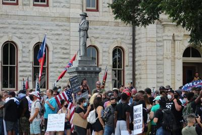 Courthouse protests