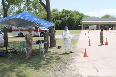 Texas National Guard testing