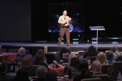 PCSO Corporal gives active shooter presentation at EPCCC luncheon