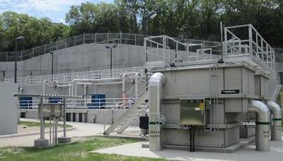 Aledo wastewater treatment plant