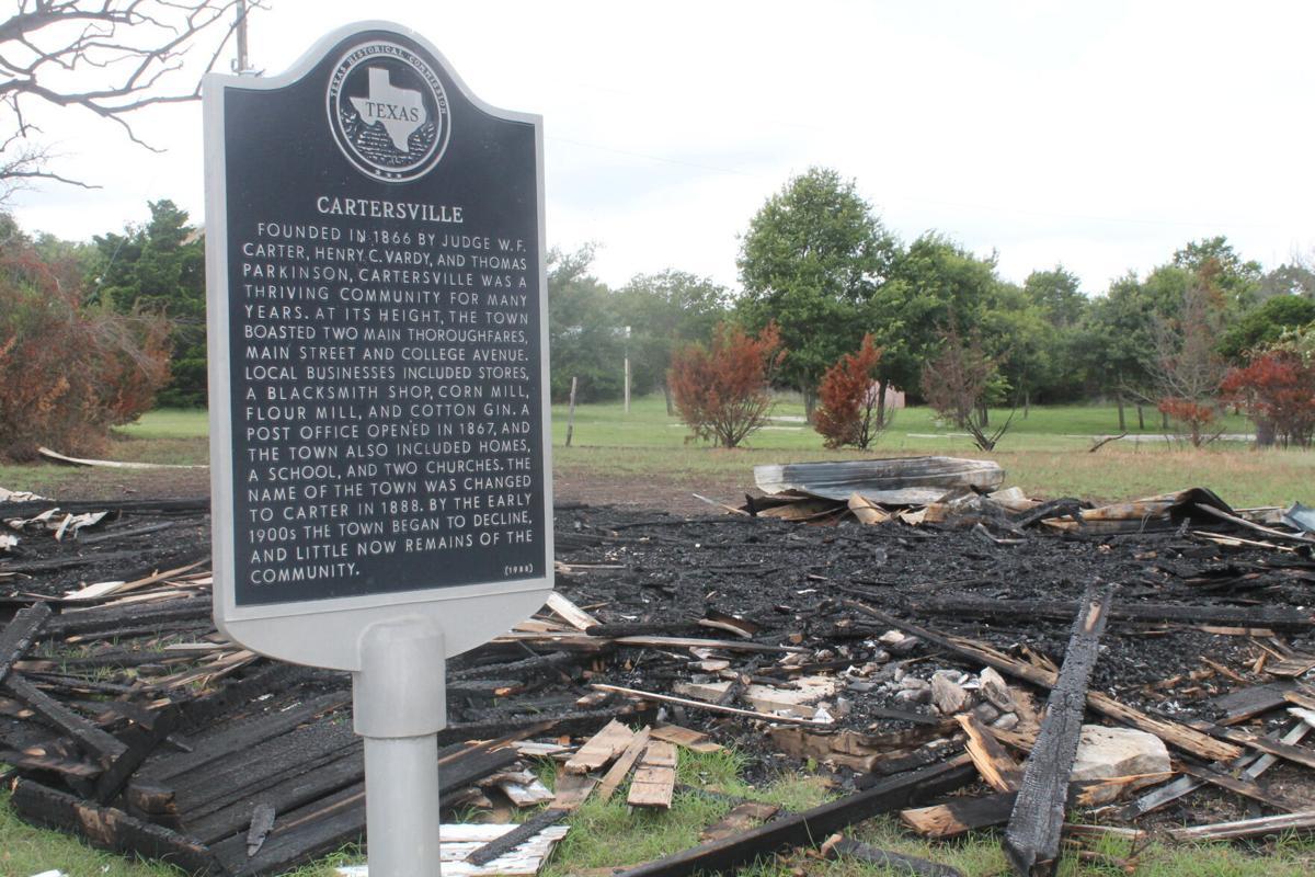 Cartersville historical marker