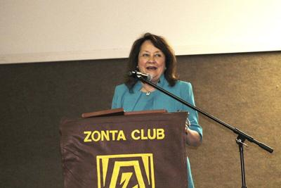 Zonta Club of Parker County welcomes Texas first lady