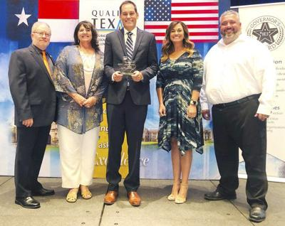 Brock ISD receives Pioneer Award for planning, performance