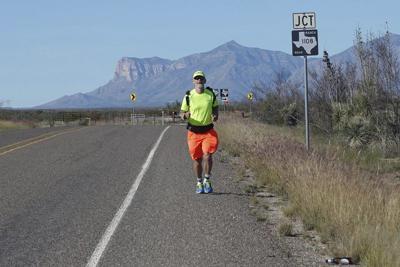 Plano man to pass through Weatherford on Texas run