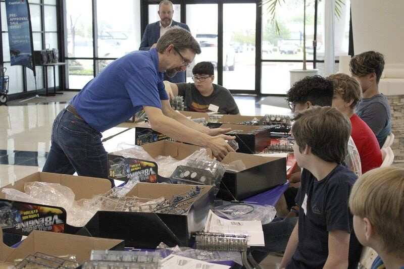 WISD students participate in official Ford career exploration program