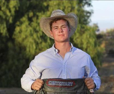 CASPER BOUND: Californian turned roper heads to national finals