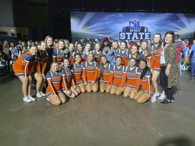 SHS cheer team places ninth in UIL competition
