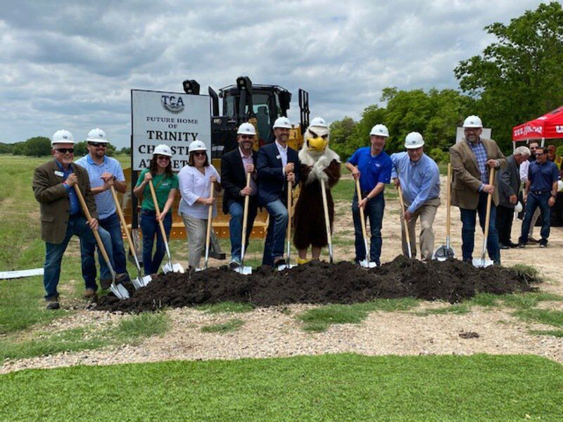 TCA holds groundbreaking for Ludwig Family Athletic Complex