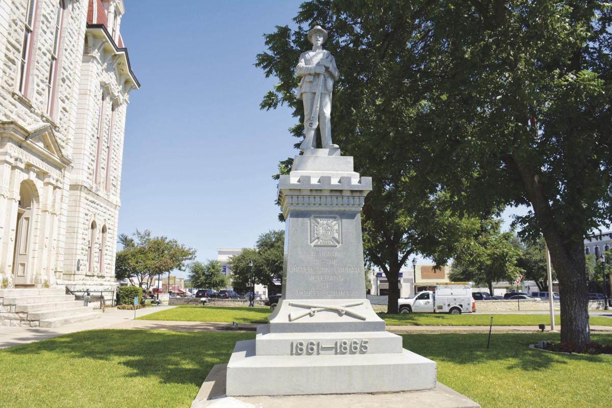 Parker County Confederate statue