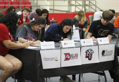 COLLEGE BOUND: MWHS hosts College Decision Day