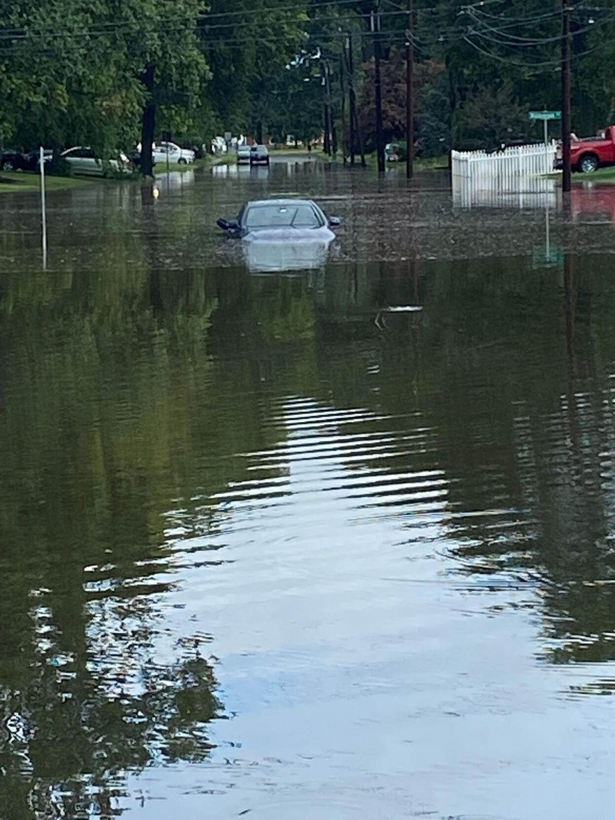 Days after hit with widespread flooding, West Hartford braces for Henri