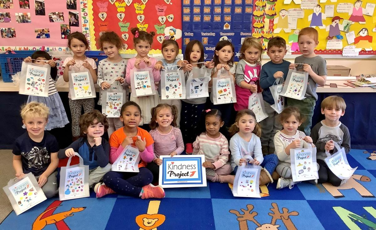 West Hartford nursery school completes 'Kindness Project'