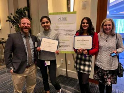 Kingswood Oxford students honored by Coalition Against Domestic Violence