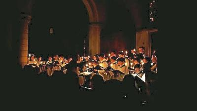 St. John's Church, in West Hartford, to livestream Lessons & Carols