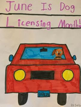 In West Hartford, dog licensing due, winners of poster contest announced
